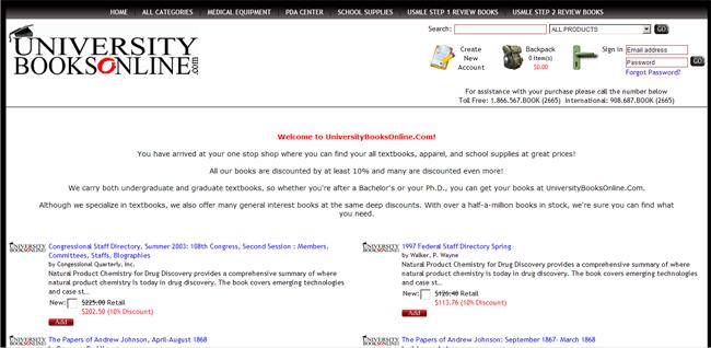 universitybooksonline